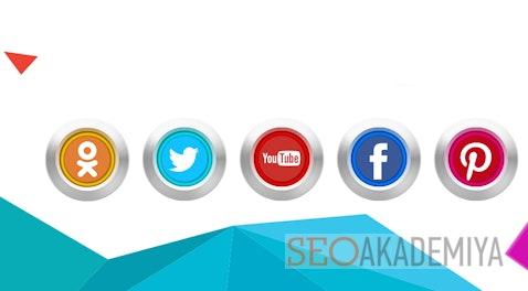 Установить кнопки социальных сетей на сайт