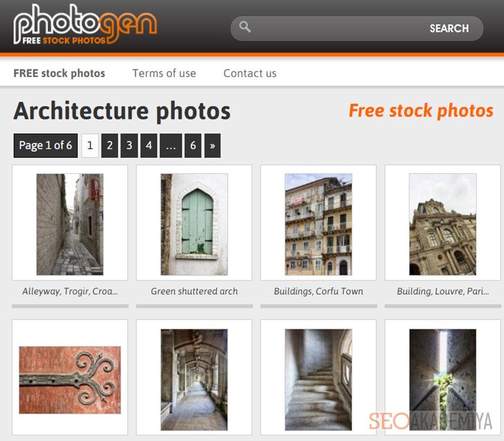 Старейший фотосток Photogen.com.