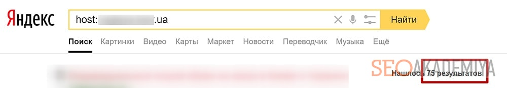 Проверка индексации в Яндекс