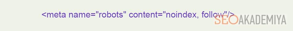Содержимое не индексировать, а контент да