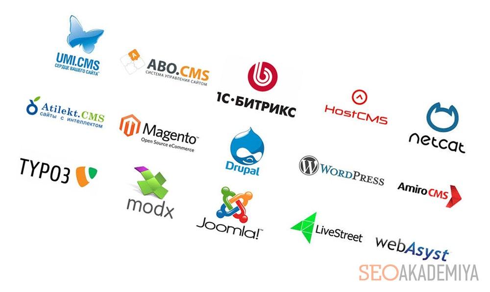 Выбор CMS системы для сайта