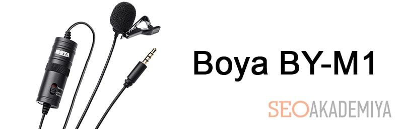 Boya BY-M1 для записи видео на youtube