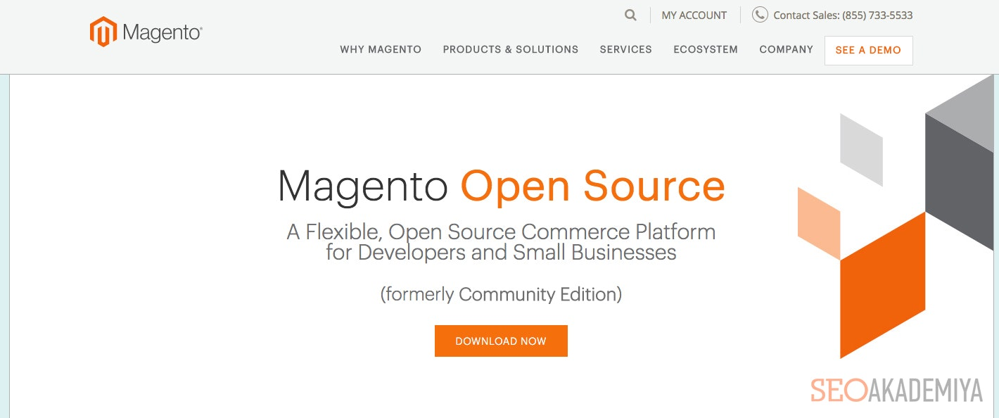 CMS Magento для интернет-магазина