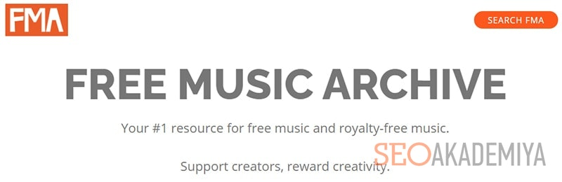 Free Music Archive для музыки на Ютуб