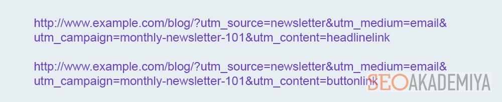 Использование UTM меток для e-mail рассылок