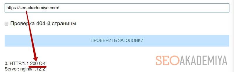 Как узнать ответ сервера страницы