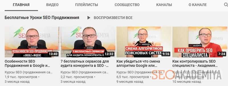 популярность бренда в ютуб канале