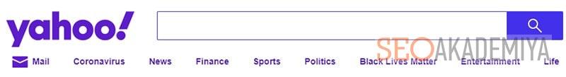 yahoo в топ 3 популярных систем поиска