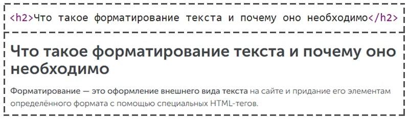 заголовки в html коде страницы пример